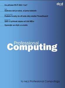To nej z Professional Computingu 03/2018