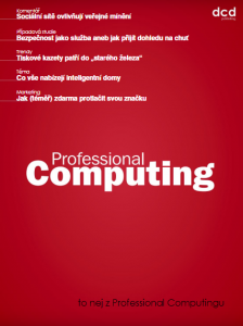 To nej z Professional Computingu 04/2018