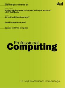 To nej z Professional Computingu 06/2018