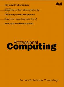 To nej z Professional Computingu 08/2018
