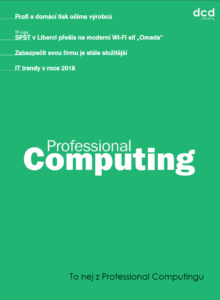 To nej z Professional Computingu 12/2018