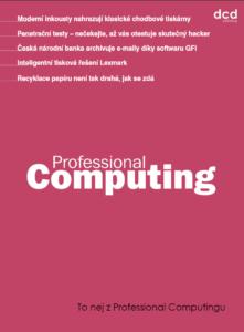 To nej z Professional Computingu 04/2019