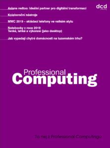 To nej z Professional Computingu 03/2019