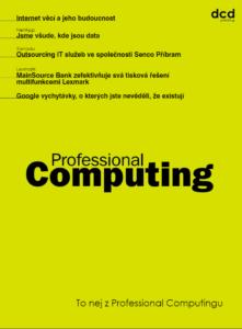 To nej z Professional Computingu 01/2020