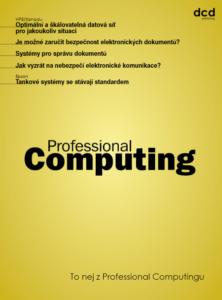 To nej z Professional Computingu 04/2020