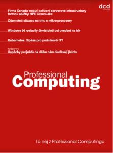 To nej z Professional Computingu 09/2020