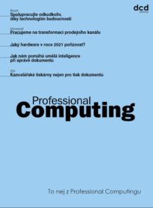 To nej z Professional Computingu 05/2021